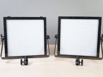 Rent: 2 light - 1x1 Genaray 5600k Light Panels kit w/Batteries #1
