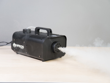 Rent: 2 x ADJ 1000 watt Fog Machine set