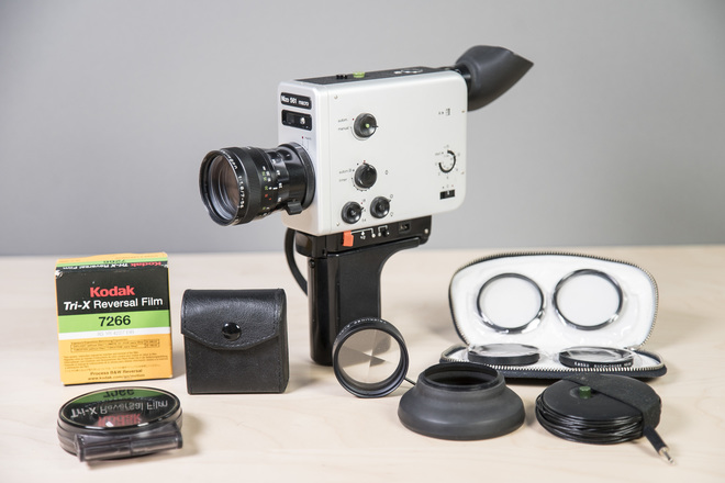 Nizo 561 Macro 8mm Camera kit