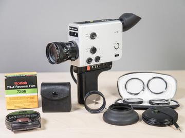 Rent: Nizo 561 Macro 8mm Camera kit