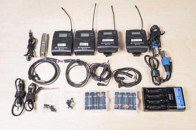 Sennheiser Wireless G3  - 2 Mic Interview Kit