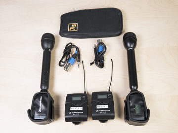 Rent: 1 x Sennheiser Wireless Stick Mic Package (1 of 2)