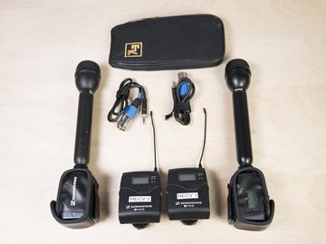 1 X Sennheiser Wireless Stick mic Kit (2 of 2)