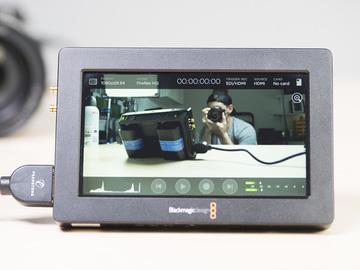 """Rent: Blackmagic Video Assist HDMI SDI Recorder 5"""" Monitor #1"""