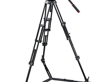 Rent: Manfrotto 509HD Video Head & 545GB Aluminum Tripod