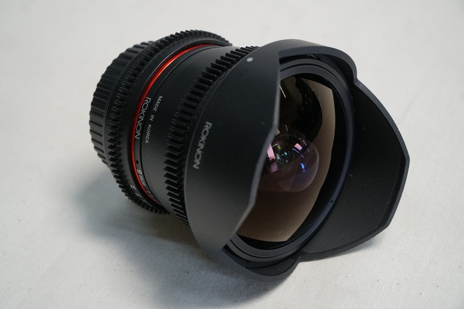 Rokinon 8mm T3.8 Cine UMC Fisheye CS II Lens