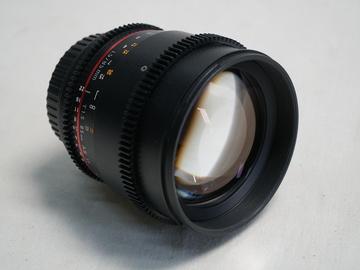 Rent: Rokinon 85mm T1.5 Cine Lens