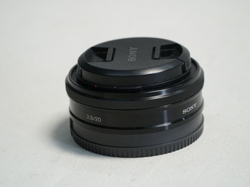 Rent: Sony 20mm f/2.8 Alpha E-mount Lens