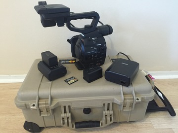 Rent: Canon C300 mk1 EF mount (+NTG-2 mic & 24-70mm lens)