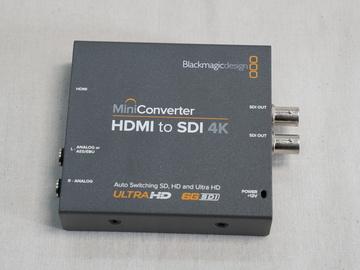 Rent: Blackmagic Design Mini Converter HDMI to SDI 4K