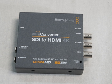 Rent: Blackmagic Design Mini Converter SDI to HDMI 4K