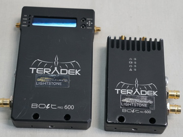 Rent: Teradek Bolt Pro 600 SDI Wireless Video Transceiver Set