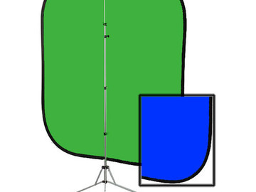 Rent: Westcott Collapsible 2-in-1 Illuminator (6X7' – Chroma Blue/