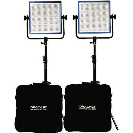 Dracast LED1000 Pro LED 3-Light Kit