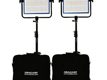 Rent: Dracast LED1000 Pro LED 3-Light Kit