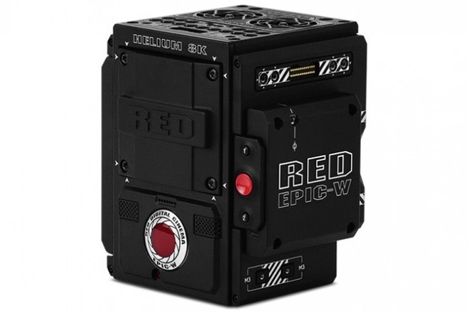 Red Epic-W Brain w/ef mt and v mt plate