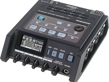 Rent: Roland R-44, 4 Channel Portable Field Recorder