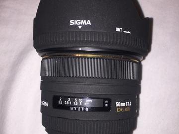 Rent: Sigma 50mm f/1.4 EX DG HSM