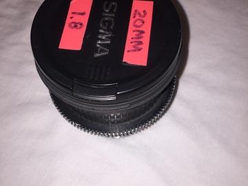 Rent: Sigma 20mm f/1.8 EX DG Aspherical Wide Angle Lens