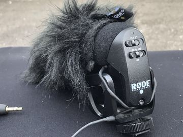 Rent:  Rode VideoMic Pro with Deadcat
