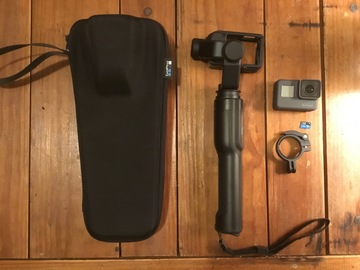 Rent: GoPro Hero 5 w/ Karma Grip Stabilizer, Case, 64GB Card,Remot
