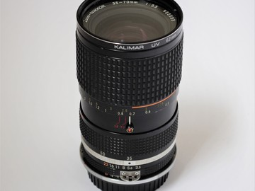 Rent: Nikon AI-S 35-70mm Zoom f/3.5 Macro Lens with EF adapter