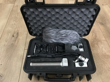 Rent: Zoom H6 w/ Shotgun Mic + Pelican Case