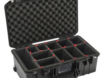 Rent: Pelican Air 1535 Case with inserts for air carry on.
