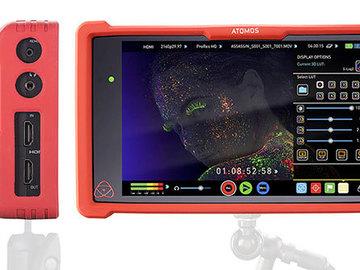 """Rent: Atomos Ninja Assassin 4k Recorder & 7"""" IPS Monitor"""