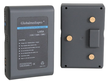 Rent: 4 Globalmediapro  Gold Mount Li-ion 95Wh Batteries Package
