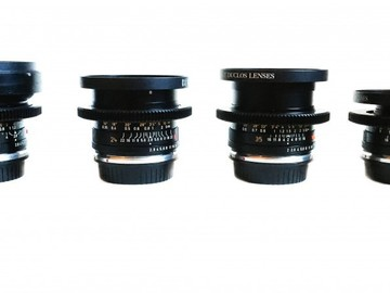 Rent: Leica r set with EF mounts (24mm, 50mm, 90mm,135mm)