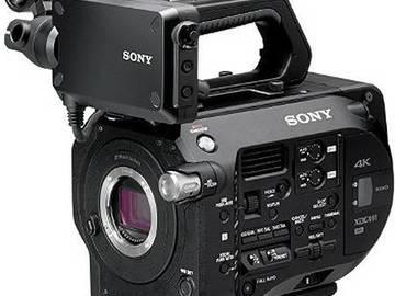 Sony PXW-FS7 XDCAM 4K Super 35 Camera