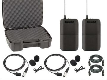 Shure BLX188/CVL Dual Channel Lavalier Wireless System