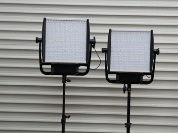 Rent: Litepanels Astra 1x1 Bi-Color LED Panel Set with Stand