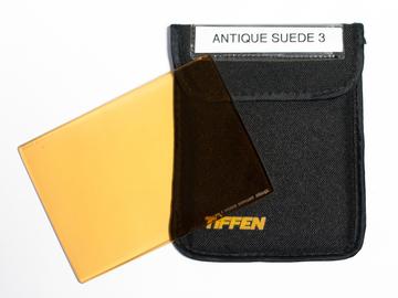 Rent: Antique Suede 3 - Tiffen 4x5.65 Color FX Filter