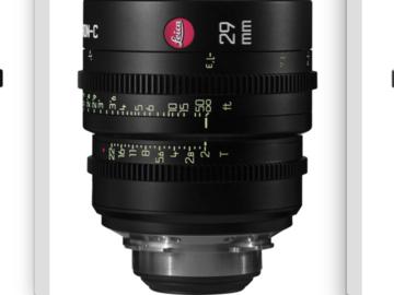 Rent: Leica Summicron-C Lenses 21/29/40mm T2
