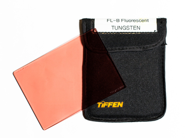 Rent: FL-B (orange) - Tiffen 4x5.65 Color FX Filter