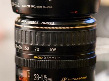 Rent: Canon 28-105mm f/3.5-4.5 Full-Frame EF USM II