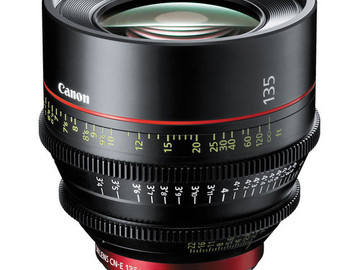 Rent: Canon CN-E 135mm T2.2 L F Cinema Lens (EF-Mount | Prime)