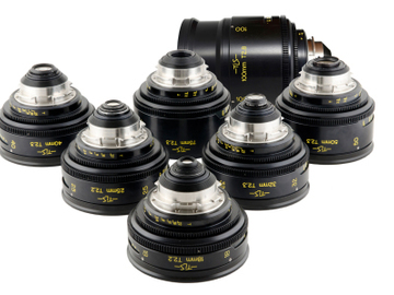 Rent: Cooke Speed Panchro 7 Lens Set | TLS Rehoused | 18-100mm