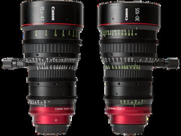 Rent: Canon CN-E Lightweight Cine Zoom kit (2 Lens) EF Mount