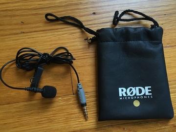 Rent: Rode smartLav+ Lavalier Condenser Microphone for Smartphones