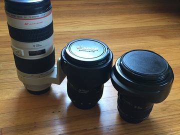 Rent: Canon EF Zoom Lens Package (L Series)