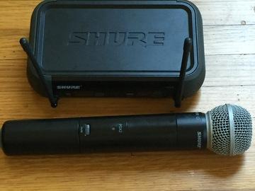 Rent: Wireless Mic System by Shure (PGX4 w/ PGX2)