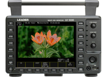Leader 5330 - a MUST for exposure judgement