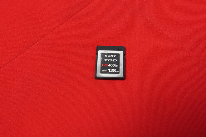 Sony 128GB XQD G Series 400MB/s Memory Card