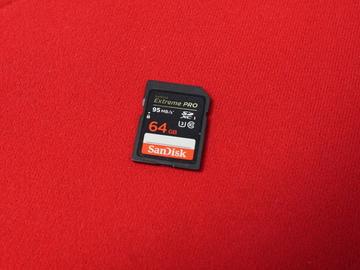 Rent: SanDisk Extreme Pro 64GB SDXC UHS-I Card
