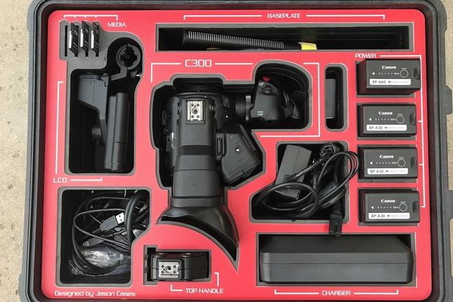 Canon C300 Mark II EF 4K w/Lexar Memory Card Package
