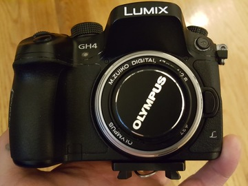 Rent: Olympus M.Zuiko Digital 17mm f/2.8 Lens for Micro Four Third