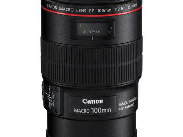Rent: Canon EF 100mm f/2.8L Macro IS USM Lens
